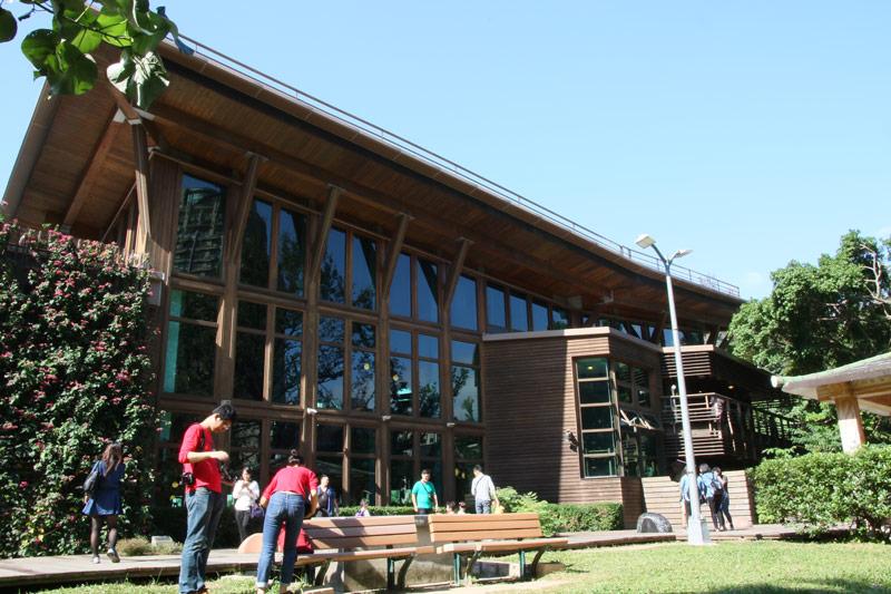 北投綠建築圖書館