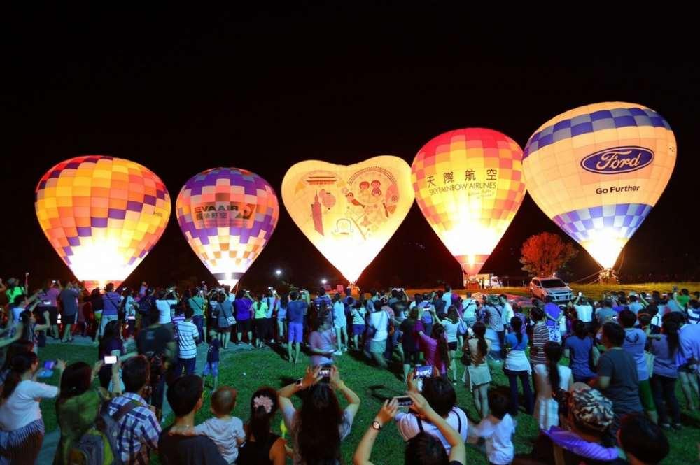 2018臺灣國際熱氣球嘉年華-光雕音樂會
