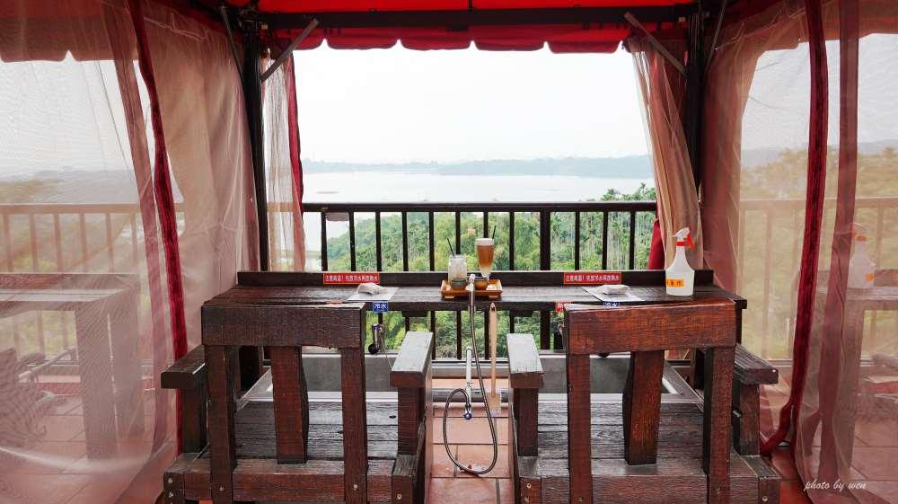 嘉義景觀餐廳唯一戶外「VILLA泡腳」獨家坐擁正湖景第一排